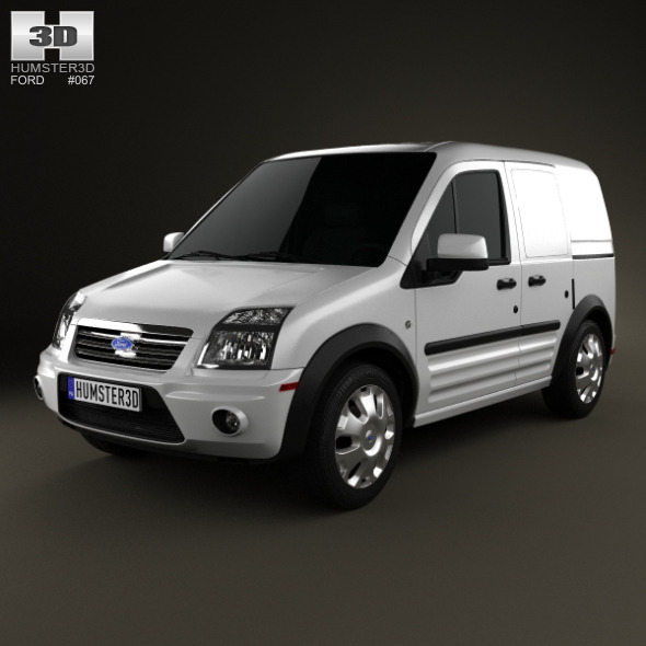 3DOcean Ford Transit Connect SWB 2012 3703448