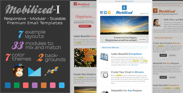 ThemeForest Mobilized-I Responsive & Modular Email Templates 3703583