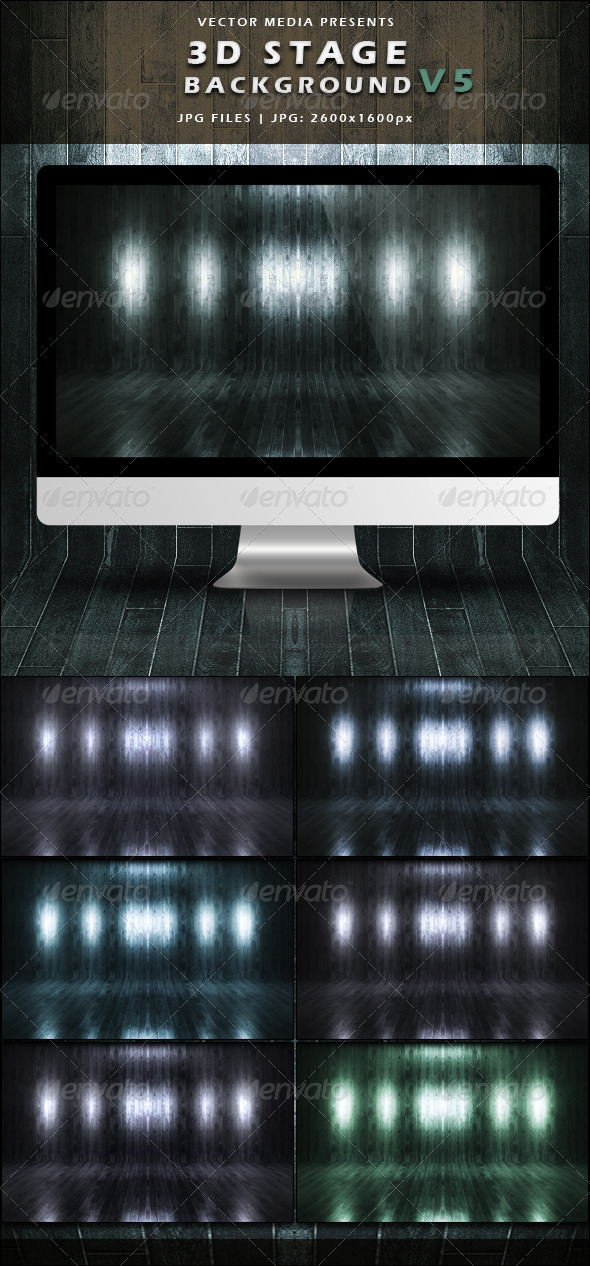 GraphicRiver 3D Stage Background Vol.5 3704874
