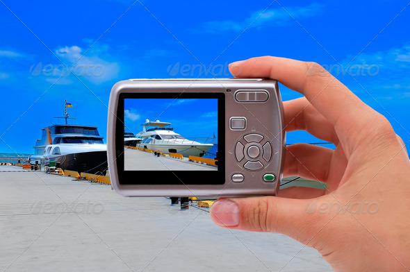 PhotoDune photographing yachts 3706994