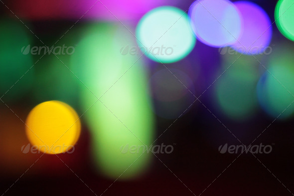 Disco Lights Background - Stock Photo - Images
