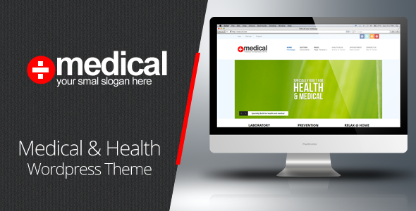 Medical - Premium Wordpress Theme - Health &amp; Beauty Retail