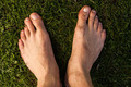 Feet in grass - PhotoDune Item for Sale