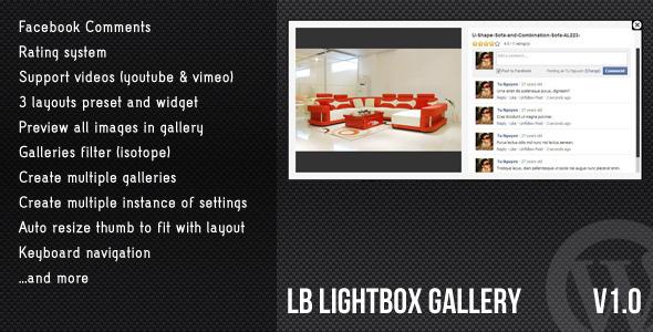 CodeCanyon WordPress Lightbox Gallery 3703009