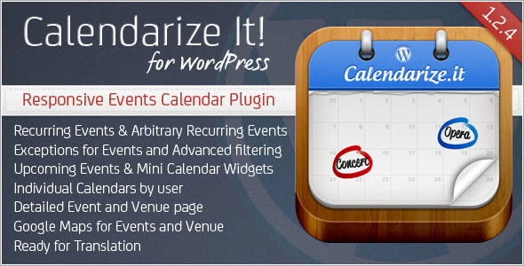 CodeCanyon Calendarize it for WordPress 2568439