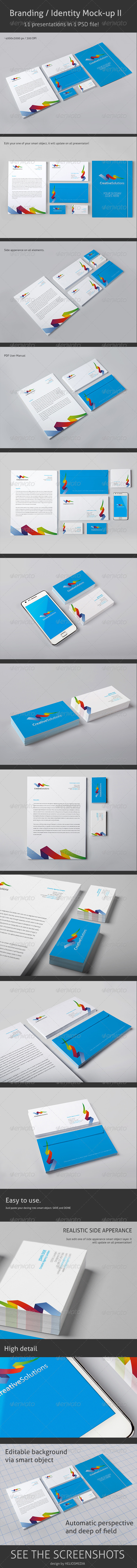 GraphicRiver Branding Identity Mock-up 2 3709675