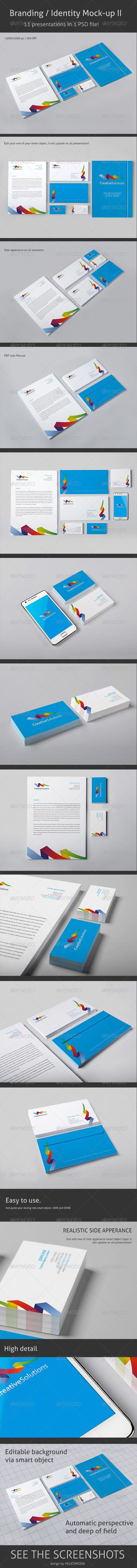 GraphicRiver Branding Identity Mock-up 2 3709675