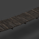 Low Poly Wooden Bridge - 3DOcean Item for Sale