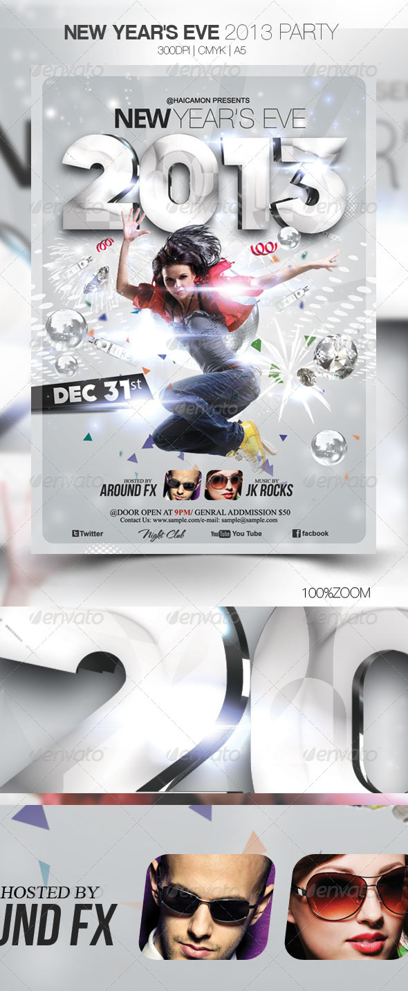 GraphicRiver New Year s Eve 2013 Party 3649326