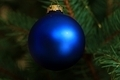 Blue Christmas Bulb - PhotoDune Item for Sale
