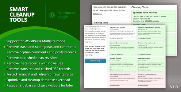 CodeCanyon Smart Cleanup Tools 3714047