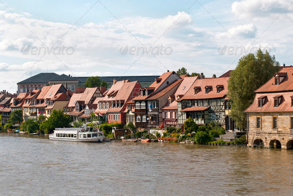 Little Venice in Bamberg - Stock Photo - Images