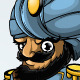 Captain In a Turban - In Three Positions - GraphicRiver Item for Sale