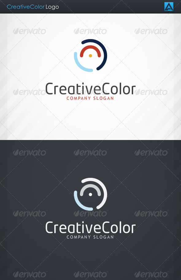Creative Color Logo - Symbols Logo Templates