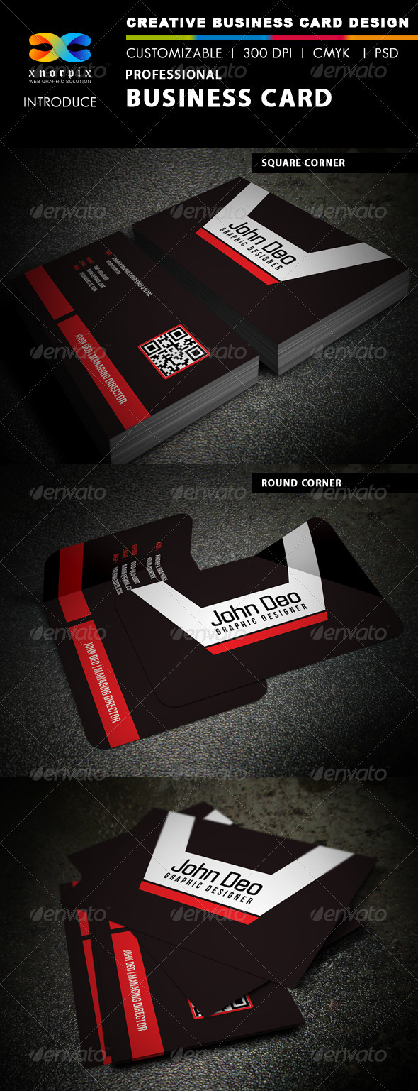 Standard Business Card - Corporate Business Cards