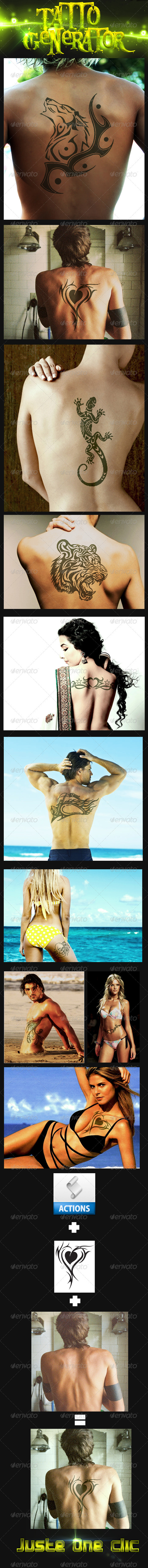 GraphicRiver Tattoo Generator 3669998