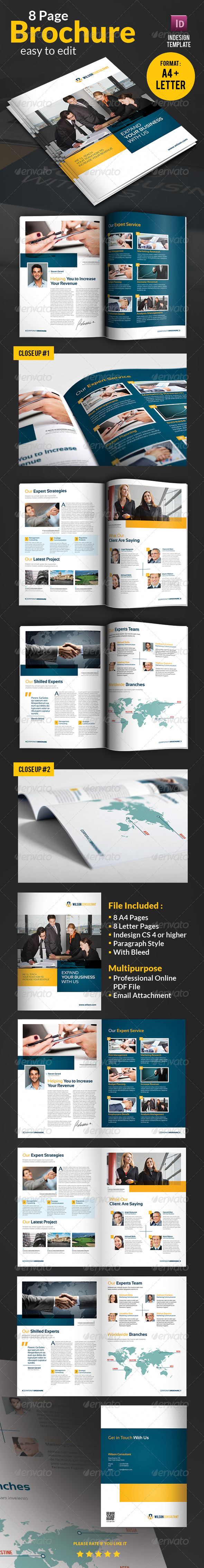 GraphicRiver Business Brochure 3716989