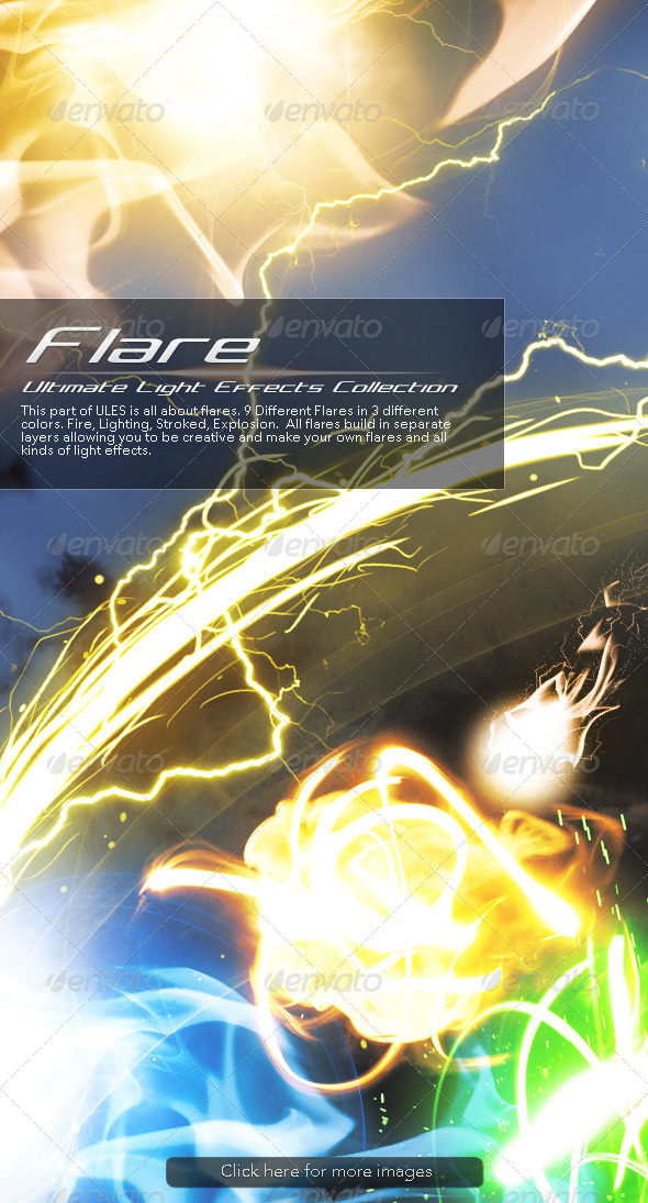 Ultimate Light Effects Collection (Flare) - Decorative Graphics