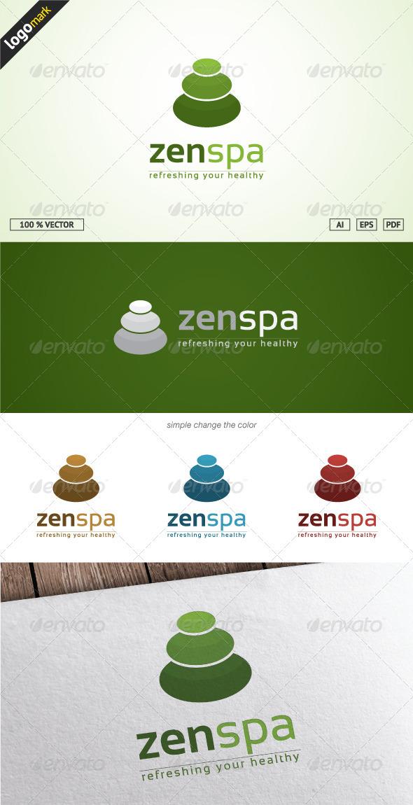GraphicRiver ZenSpa Logo 3670418
