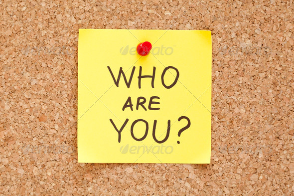 Who Are You - Stock Photo - Images