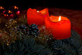 Candles on Advent Wreath - PhotoDune Item for Sale