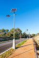 Street Lamp with Solar Panel - PhotoDune Item for Sale