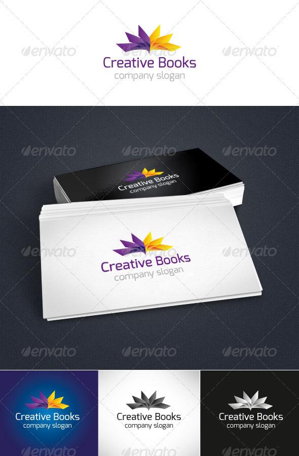 GraphicRiver Creative Books Logo 3719358