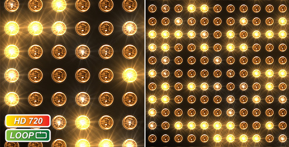 VideoHive Reflector headlamp spots 400175