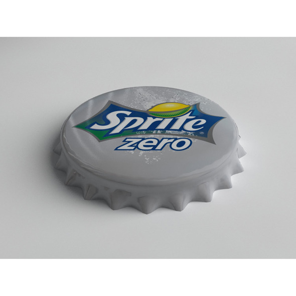 3DOcean Sprite Zero Bottle Tin Cap 3719798