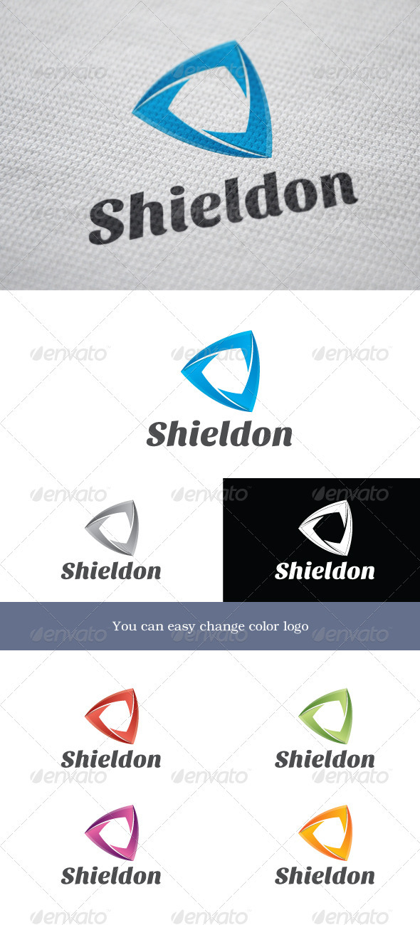 GraphicRiver Shieldon Logo 3719939