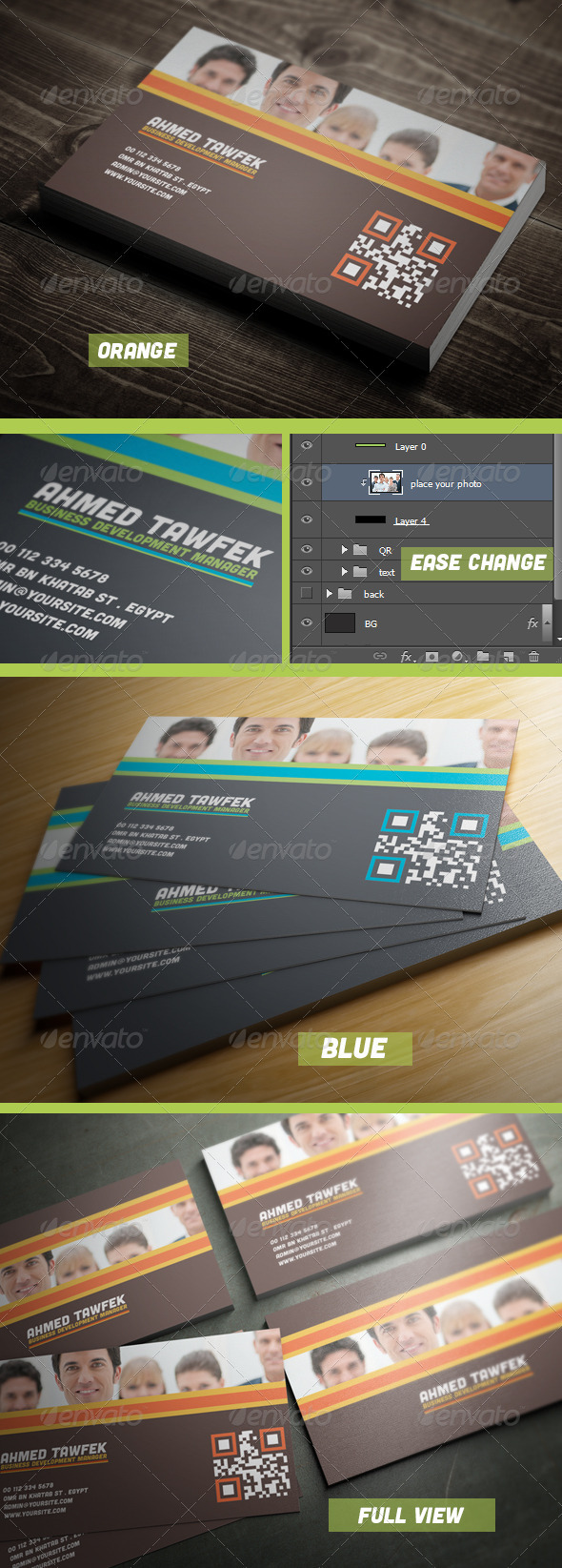 12 Dream Business Card - Corporate Business Cards