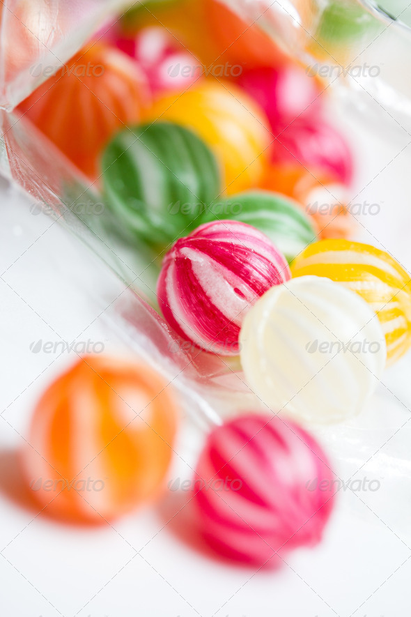 PhotoDune colorful round candies 3720388