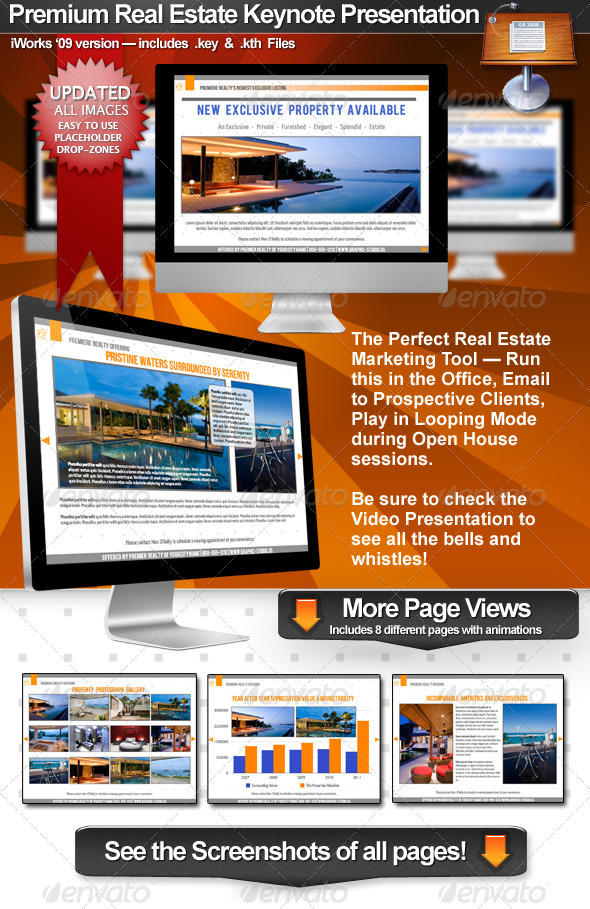 GraphicRiver Premium Real Estate Keynote Presentation 309956