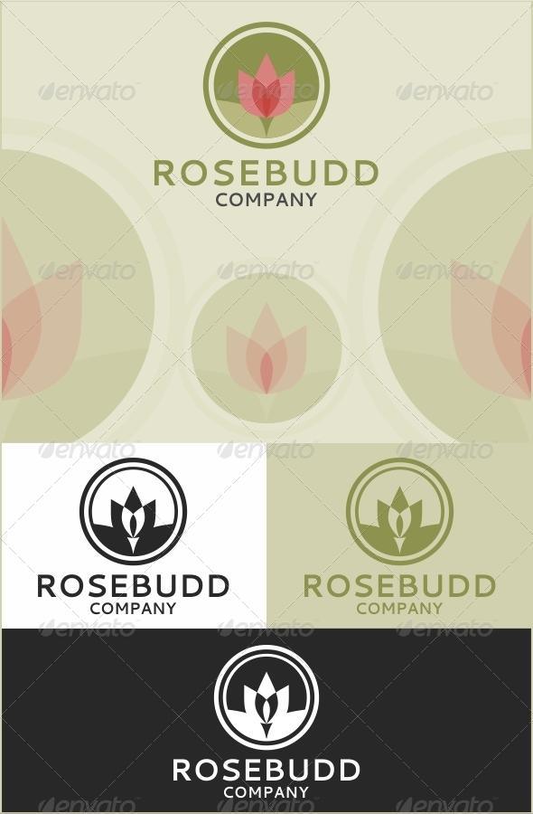 GraphicRiver Rosebudd Company Logo 3652074
