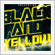 Black and Yellow Multi-Title Party - GraphicRiver Item for Sale