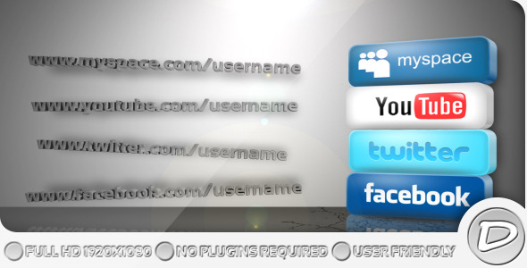 Get Social VideoHive -   Openers  Corporate 372200