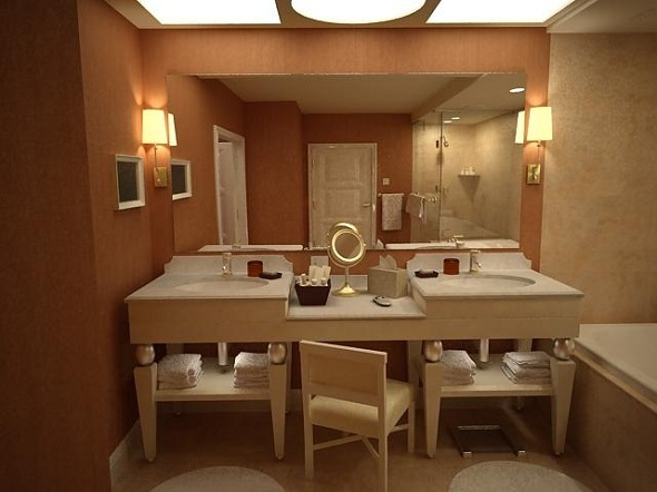 3DOcean complete bathroom interior 3722575