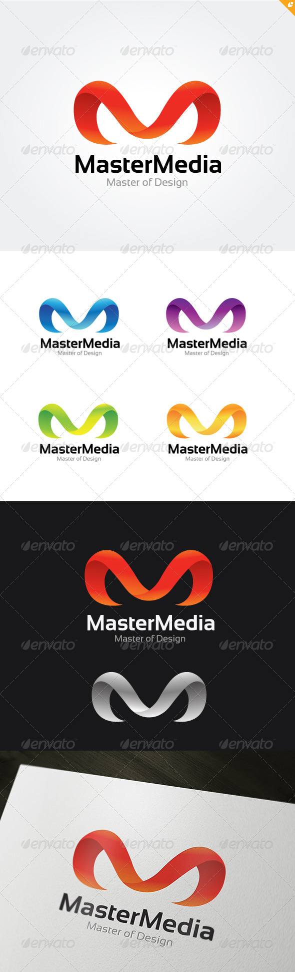GraphicRiver Master Media Logo 3724624