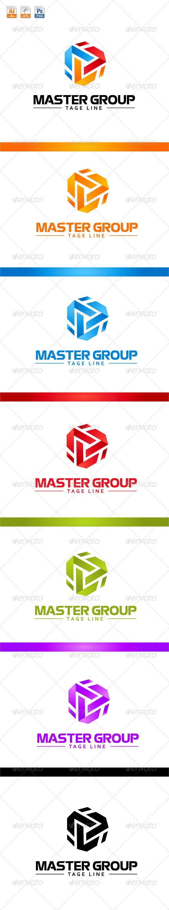 GraphicRiver Master Group Logo 3725896