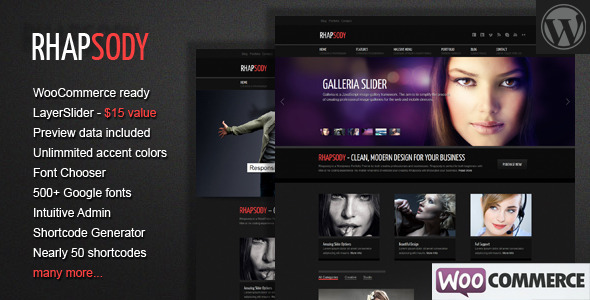 best premium wordpress themes Rhapsody WordPress Multi Purpose Theme