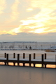 Sun Setting On The Icy Dock - PhotoDune Item for Sale