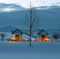 Two Huts In The Snow - PhotoDune Item for Sale