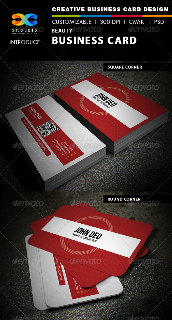 Beauty Business Card - Creative Business Cards