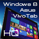 Windows 8 Tablet ASUS VivoTab High Poly - 3DOcean Item for Sale
