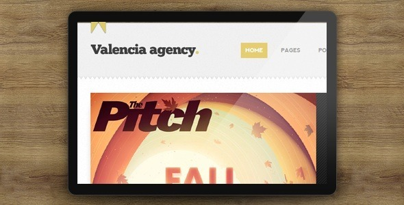ThemeForest Valencia HTML Template 3726656