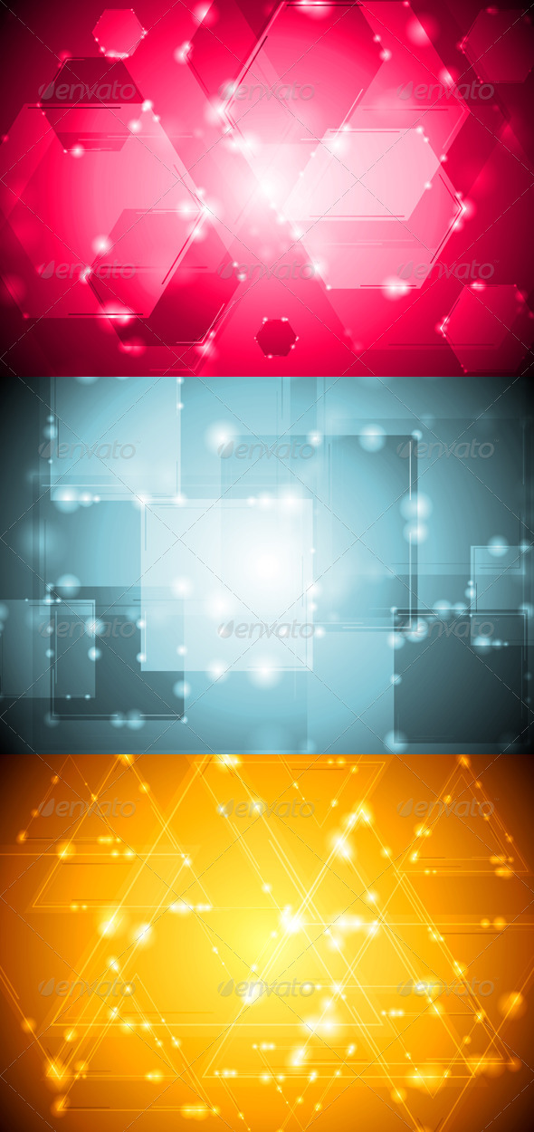 GraphicRiver Bright technology design 3731279