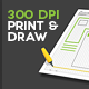 Printable Sketch Templates  - GraphicRiver Item for Sale