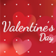 Valentine's Day Flyer and Background - GraphicRiver Item for Sale