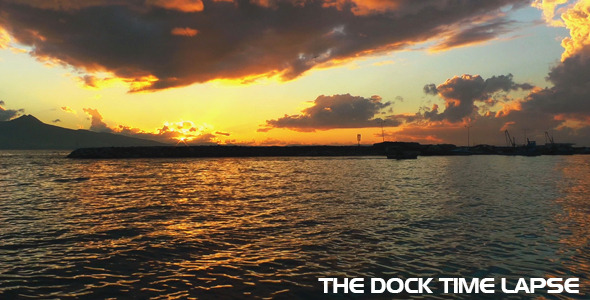 The Dock Time Lapse VideoHive Stock Footage  Time Lapse 3732312