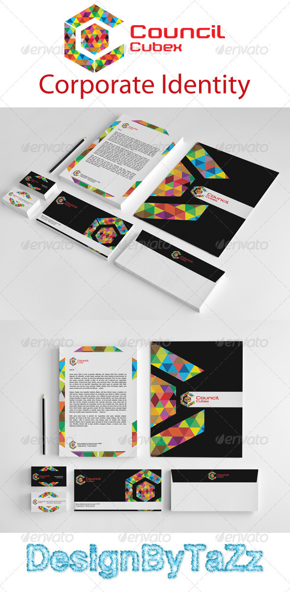 GraphicRiver Council Love Corporate Identity Package 3735858